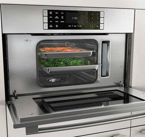 An oven with steam. Source: Digitaltrends