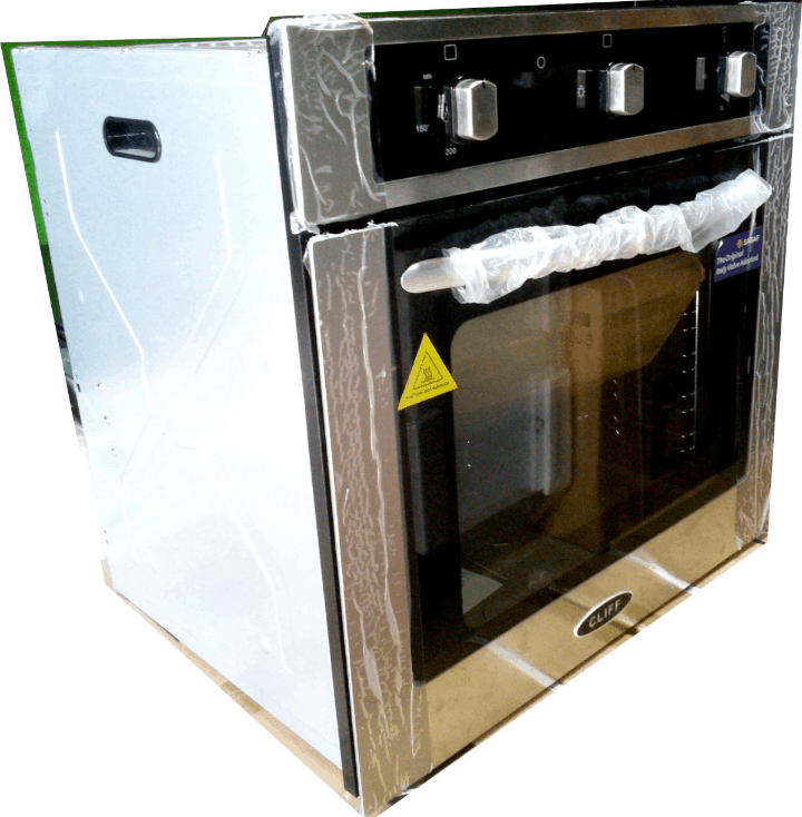 A built-in oven. Source: Cliffproducts