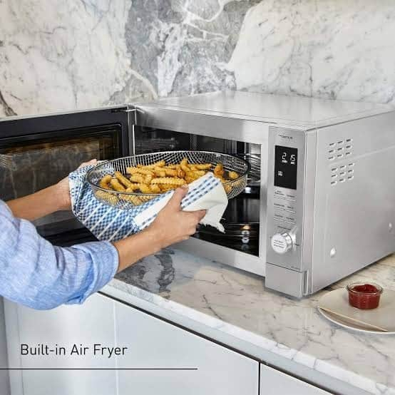 microwave ovens cook all your meals evenly. Source: Kitchenairy