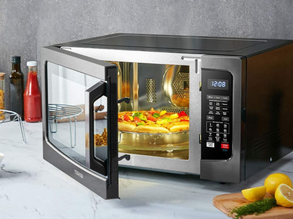 Microwave convection oven.