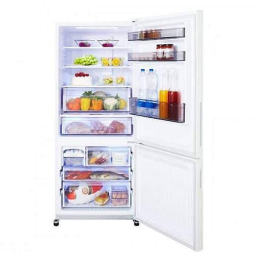 A bottom freezer fridge is a convenient choice for those who don't use the freezer too much. Best Refrigerator Malaysia - Shop Journey