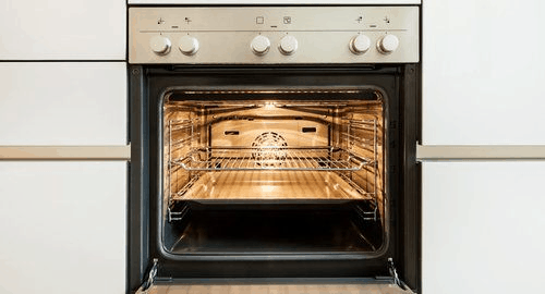 Conventional home oven for all your baking needs.
