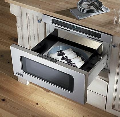 Drawer microwaves are ultra-modern.