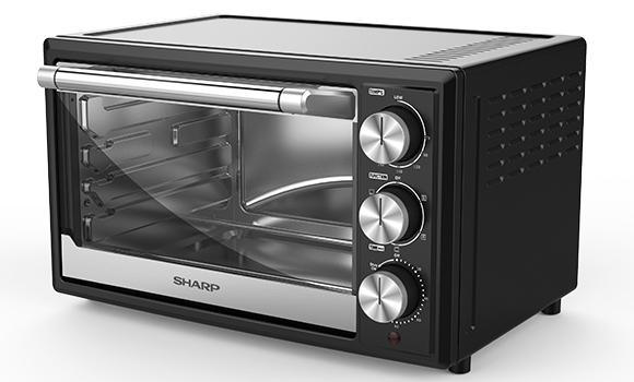 Stylish Sharp convection microwave with reflective cavity and glass door. Cheap Microwave Malaysia - Shop Journey