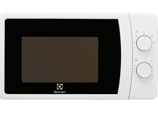 A white Electrolux 20L with a clean front panel.  Cheap Microwave Malaysia - Shop Journey