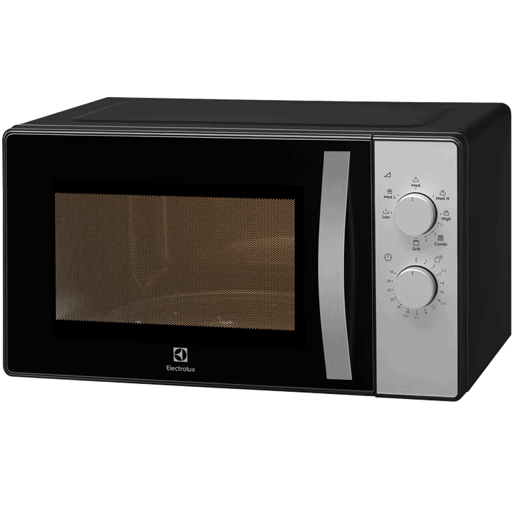Electrolux grill microwave in the operational mode. Cheap Microwave Malaysia - Shop Journey