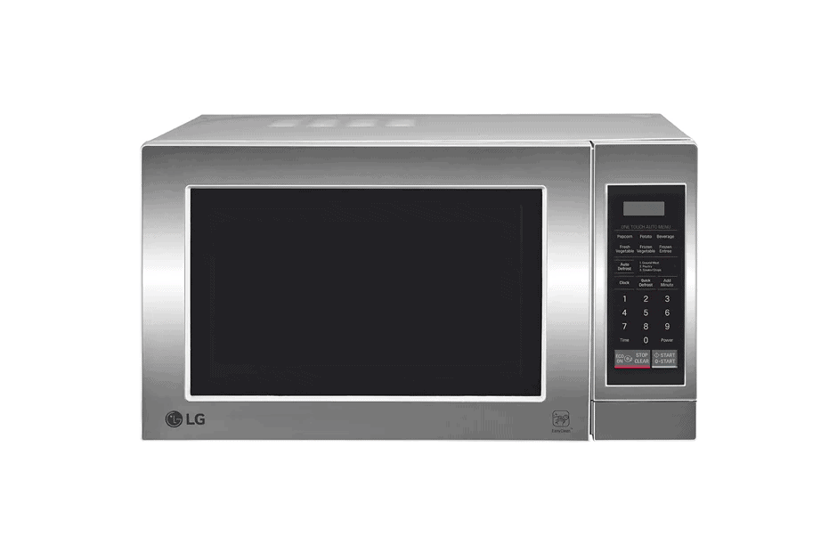 A regular 20-liter microwave.