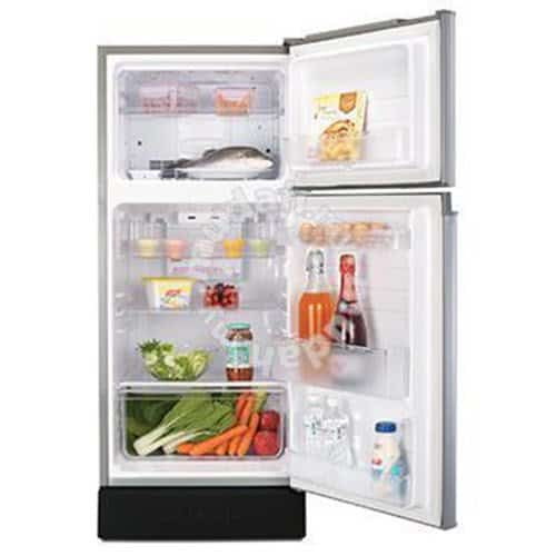 A top freezer double door fridge is a good option with enough capacity for a small family. Best Refrigerator Malaysia - Shop Journey